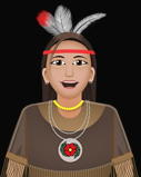 Native American ( Ojibwe ) girl from fractions video