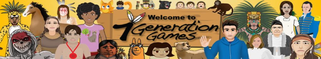 Game Characters say Welcome to 7 Generation Games