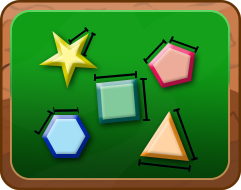 Shapes with different perimeters