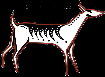 Deer totem from Making Camp Ojibwe
